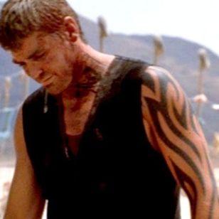 Seth Gecko's tribal sleeve tattoo finally revealed #sethgecko #iconicfilmtattoos #90stattoos #tribaltattoo #sleevetattoo #movietattoos