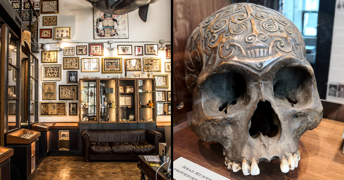 A Trip to the Roma Tattoo Museum