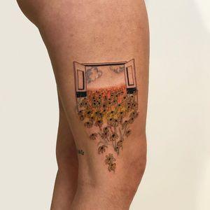Eco tattoo by Lee aka rat666tat #Lee #rat666tat #ecotattoo #vegantattoo #ecotattooer #ecofriendlytattoo #vegantattooer #ecoresponsibletattoo #biodegradabletattoosupply #animalfriendlytattoo