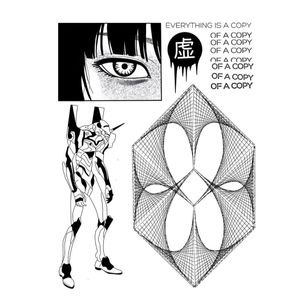 Illustrative tattoo flash by DSMT #DSMT #illustrative #blackwork #graphicart #anime #cyberpunk #surreal #darkart #linework #cyber #electronica #virtualreality