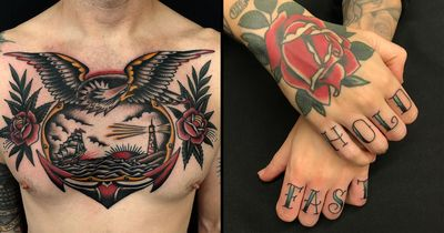 Sailor Tattoos: Ink and the Open Sea