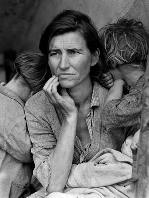 Migrant Mother by Dorothea Lange, 1936 #arthistory #contemporaryphotography #fineart #tattoocollector #selfportrait