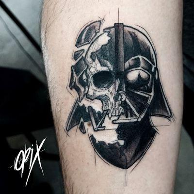 #RogerioOpix #OpixTattoo #nerd #geek #starwars #sketch #darthvader