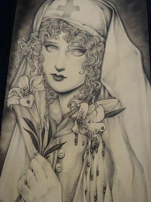 Illustration by Miss Juliet #MissJuliet #tattooartistart #tattooart #tattooflash #tattooartwork