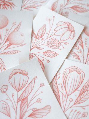 Illustrations by Daniel the Gardener #DanieltheGardener #tattooartistart #tattooart #tattooflash #tattooartwork