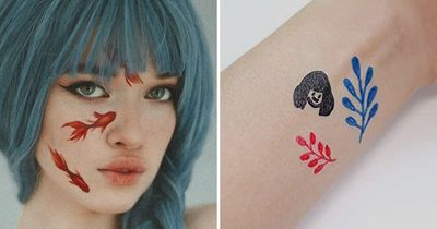 DIY Temporary Tattoos: Commitment Free Fun