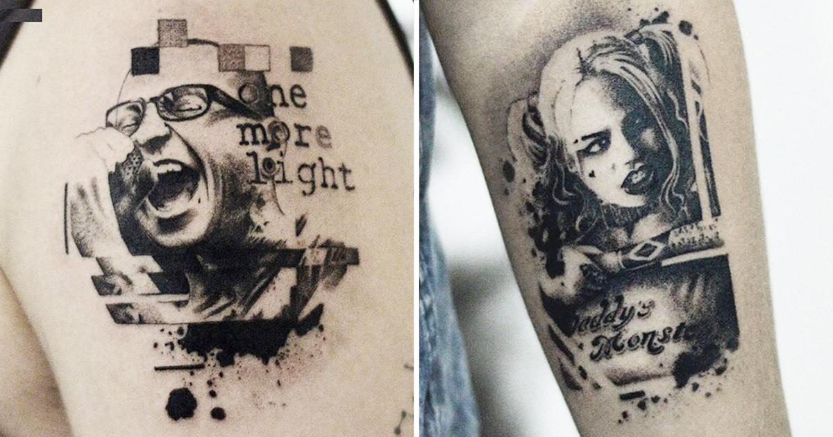 15 Tatuagens Blackwork Do Artista Nacional Glitxi