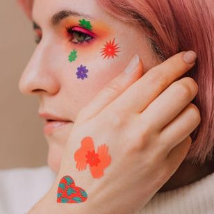 These temporary tattoos from Tattlly can easily be created at home with temporary tattoo printer paper #temporarytattoo #temptattoo #DIYtattoo #temporarytattooprinterpaper