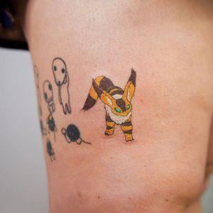 Teto tattoo by okidtattoo #okidtattoo #teto #nausicaa #nausicaaofthevalleyofthewind #StudioGhibli #anime #manga #movie