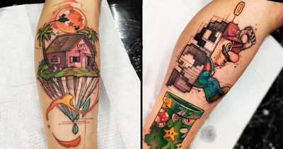 20 Tatuagens Fenomenais Do Ilustrador e Tatuador Felipe Rodrigues FeRod