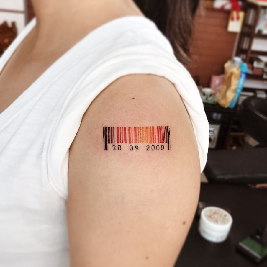 Things to know BEFORE getting a barcode tattoo • Tattoodo