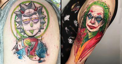 19 Tatuagens Fantásticas Da Artista Mayara Marques