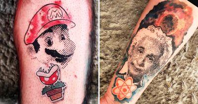 14 Tatuagens Inspiradoras Com o Estilo Do Artista Rodrigo Dicheti
