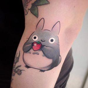 My Neighbor Totoro tattoo by heytherejenny #heytherejenny #MyNeighborTotoro #Totoro #forestspirit #yokai #Japanesespirit #Japanesegod #deity #forestgod #StudioGhibli #anime #manga #movie