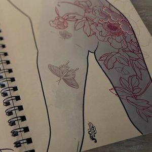 Ilustração de Fibs #tatuadora #Fibs #tattooartistart #tattooart #tattooflash #tattooartwork