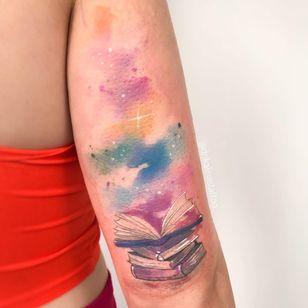 #drikalinas #aquarela #watercolor #colorida #colorfull #nerd #geek #livros #books