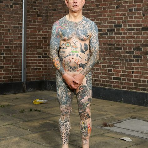 Bill Baker photographed by Alan Powdrill for COVERED #AlanPowdrill #tattooculture #tattoocommunity #tattoophotography