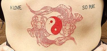 The Yin Yang Tattoo