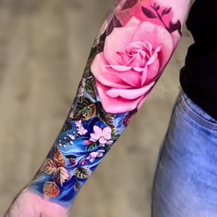 #LedCoult #realismo #realism #tatuadoresdobrasil #brasil #brazil #brazilianartist #flores #flowers
