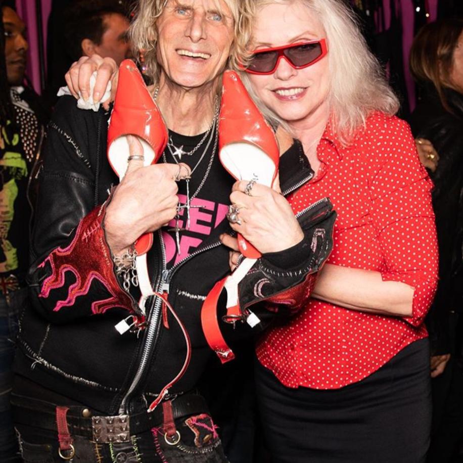 Debbie Harry of Blondie and Jimmy Webb