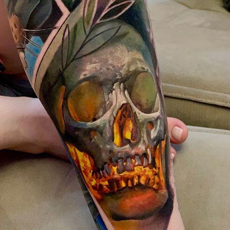 #LedCoult #realismo #realism #tatuadoresdobrasil #brasil #brazil #brazilianartist #caveira #skull