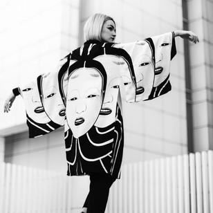 Kimono by Oscar Hove #OscarHove #supporttattooists #supportartists #tattooart #tattooshirt #tattoomerch #tattooinspo