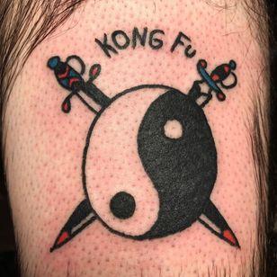 Yin yang tattoo by peaceandlove.eternally #peaceandloveeternally #YinYangtattoos #YinYang #Chinese #symbol