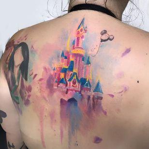#drikalinas #aquarela #watercolor #colorida #colorfull #nerd #geek #disney