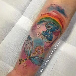#drikalinas #aquarela #watercolor #colorida #colorfull #nerd #geek #stitch #lilostitch #filmes #movies #disney