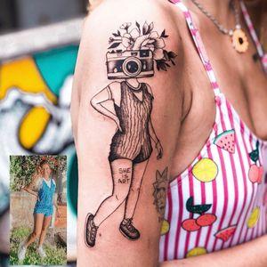 #BrunaGuzzo #tatuadoras #tatuadorasbrasileiras #fineline #fotografia #photography