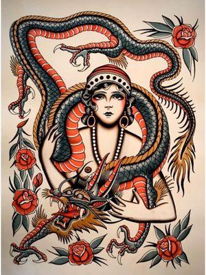 Painting by Rodrigo Kalaka #RodrigoKalaka #stefbastianpresents #frontline #tattooart #artauction