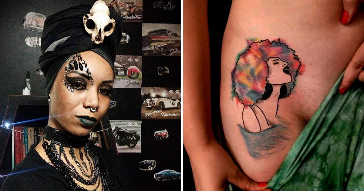 Artista Lua Negra: A Dor é a Oferenda Para Se Merecer As Marcas Escolhidas!