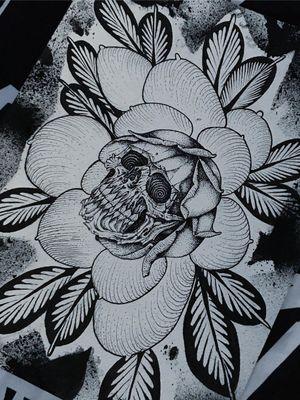 Illustration by Wulfbaron #Wulfbaron #darkart #japaneseinspired #illustrative