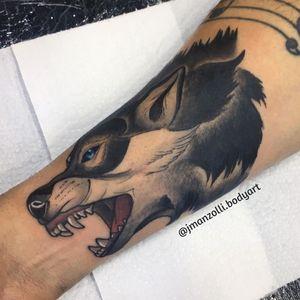 #JulianaManzolli #tatuadorasbrasileiras #lobo #wolf #neotrad #neotraditional