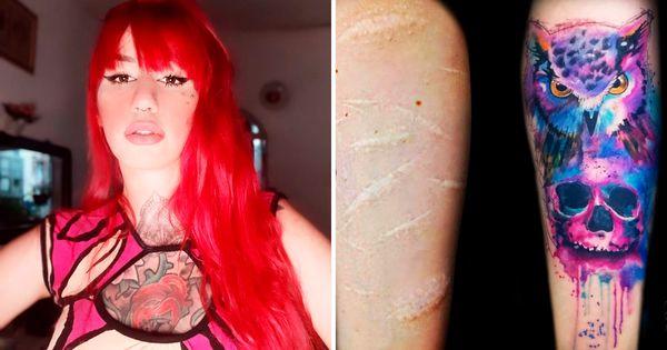 Troque Uma Cicatriz Por Um Sorriso: Conheçam o Trabalho Emocionante Da Tatuadora Elvira Bono