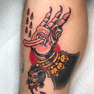 Buddha tattoo by Glenn Seymour #GleenSeymour #buddhisttattoo #buddhatattoo #buddhism #buddha #mudra
