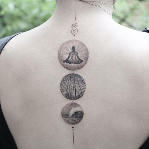 Buddha tattoo by Eva Krbdk #EvaKrbdk #buddhisttattoo #buddhatattoo #buddhism #buddha