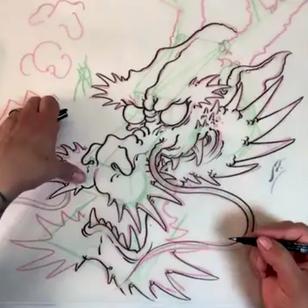 Bill Canales' dragon tutorial