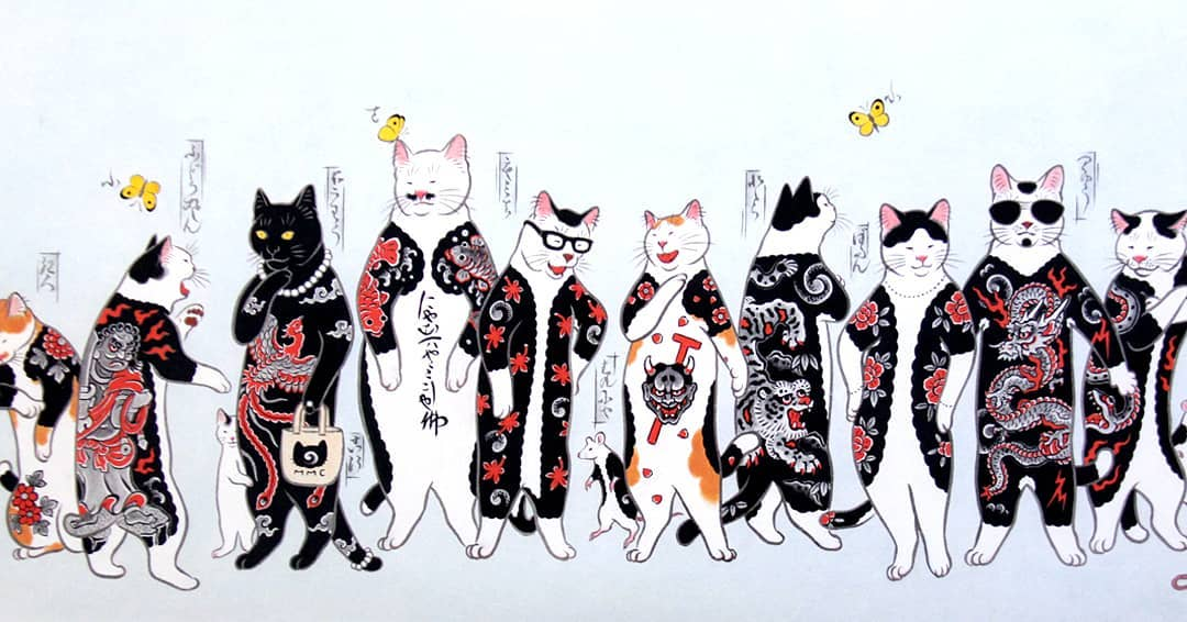 Monmon Cats: Horitomo at Gallery Nucleus