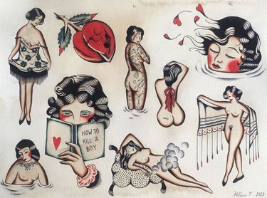 Those Vintage Feels: Interview with Tattoo Artist Helena Front
