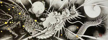 The Art of Suiboku-ga: Ichi Hatano's Dragons