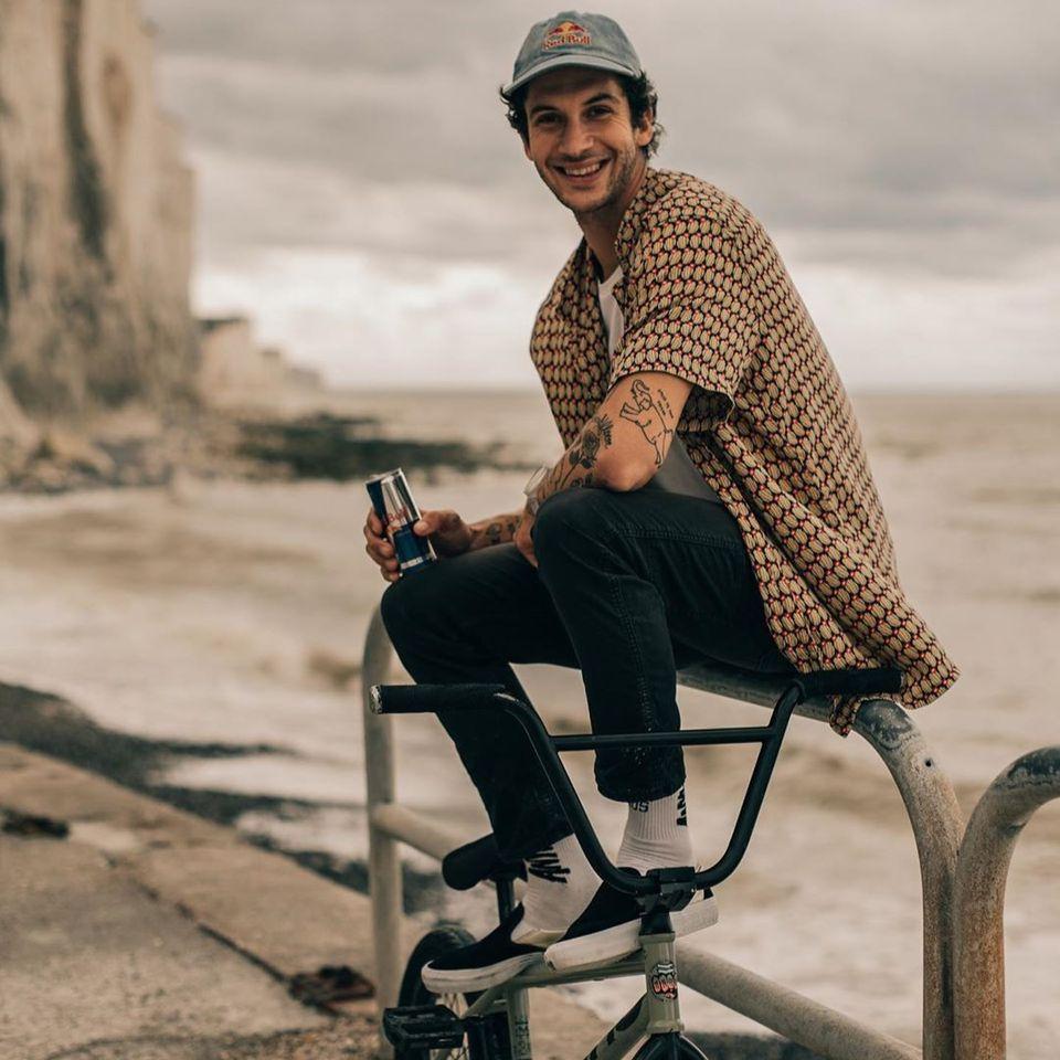 Matthias Dandois - photo by JC Pieri #MatthiasDandois #bmx #tattoocollector