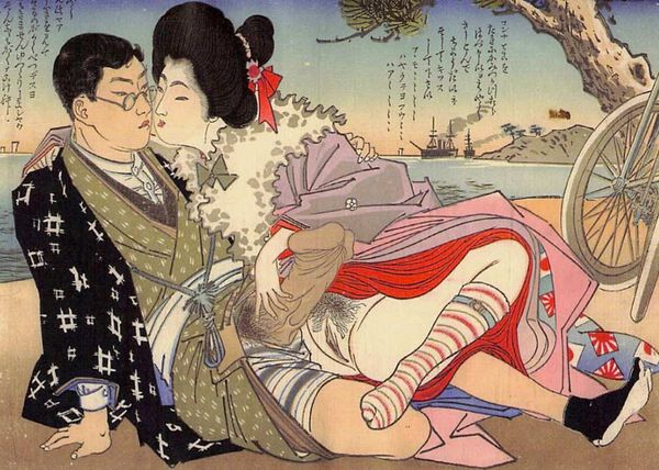 NSFW: The Succulent Sexuality of Shunga Tattoos