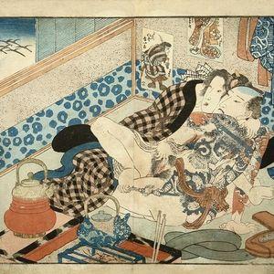 Shunga by Utagawa Kunisada