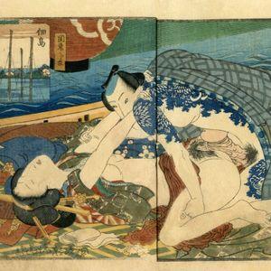 Shunga by Koikawa Shozan