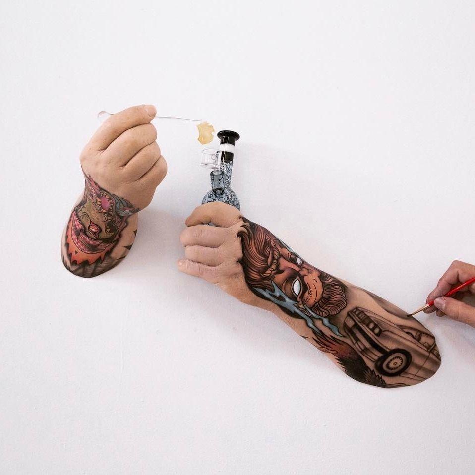 Hyperrealist sculpture by Sergio Garcia #SergioGarcia #tattooart