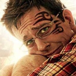 Mike Tyson's tattoo in The Hangover