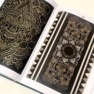 Inside Shangrila Inmortal Tattooing produced by Dasly #ShangrilaInmortalTattooing #Dasly #ornamentaltattoo #tribaltattoo #neotribaltattoo #tattoopainting #tattoobook