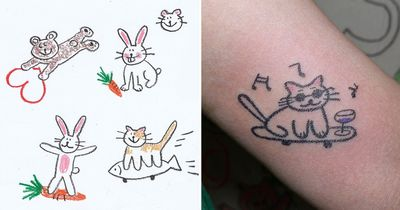 Crayons are Cool: The Tattoos of Mello
