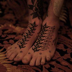 Tattoo by Jaya Suartika aka Jayaism #JayaSuartika #Jayaism #patternwork #pattern #tribal #ornamental #blackwork